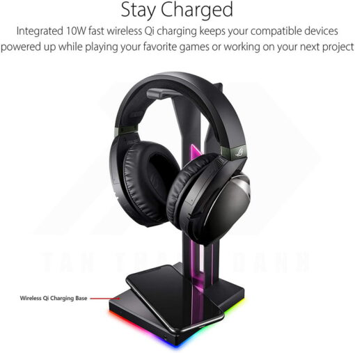 ASUS ROG Throne Qi Gaming Headset Stand 3