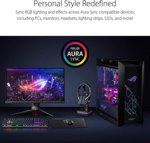 ASUS ROG Throne Qi Gaming Headset Stand 7