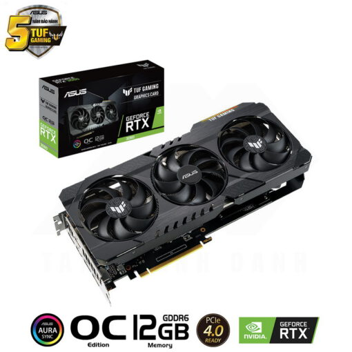ASUS TUF Gaming Geforce RTX 3060 OC Edition 12G Graphics Card 1