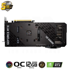 ASUS TUF Gaming Geforce RTX 3060 OC Edition 12G Graphics Card 3