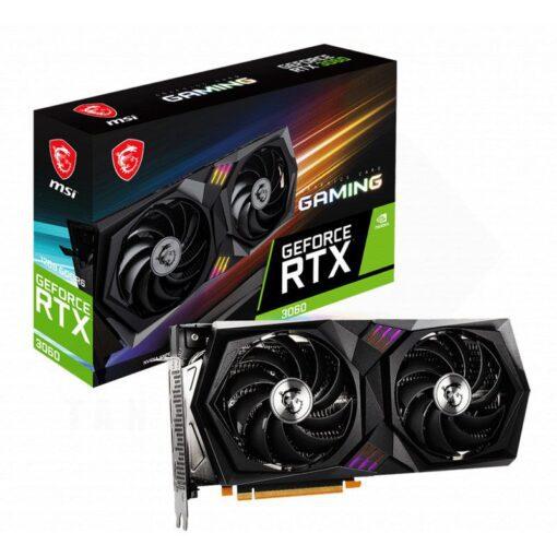 MSI Geforce RTX 3060 GAMING 12G Graphics Card 1