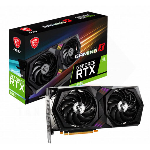 MSI Geforce RTX 3060 GAMING X 12G Graphics Card 1