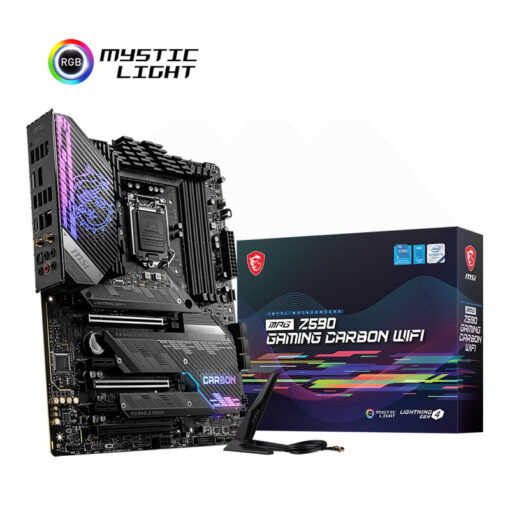 MSI MPG Z590 GAMING CARBON WIFI Mainboard 1