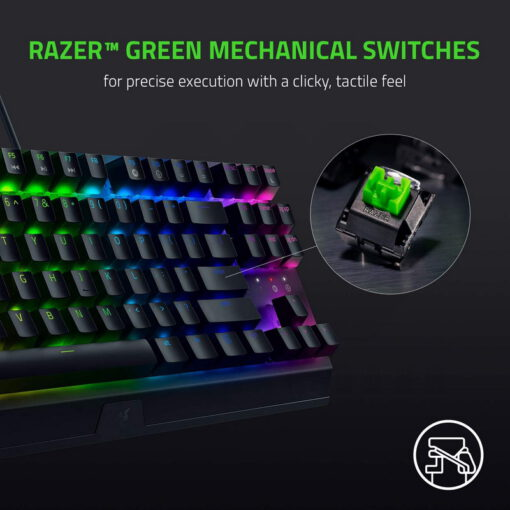 Razer BlackWidow V3 Tenkeyless Keyboard 2