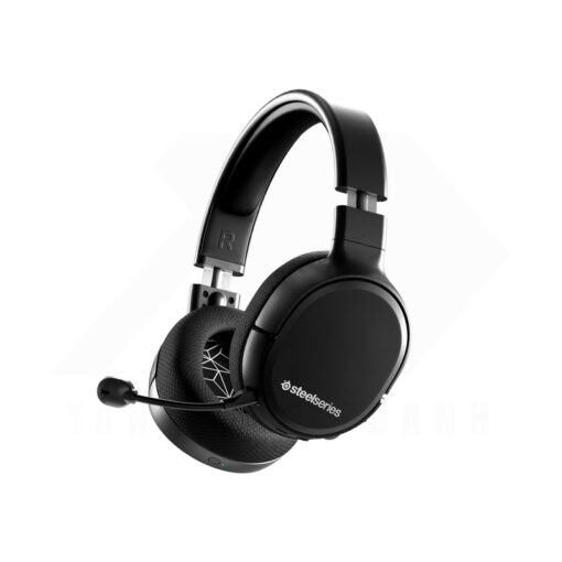 SteelSeries Arctis 1 Wireless Gaming Headset – Black 1
