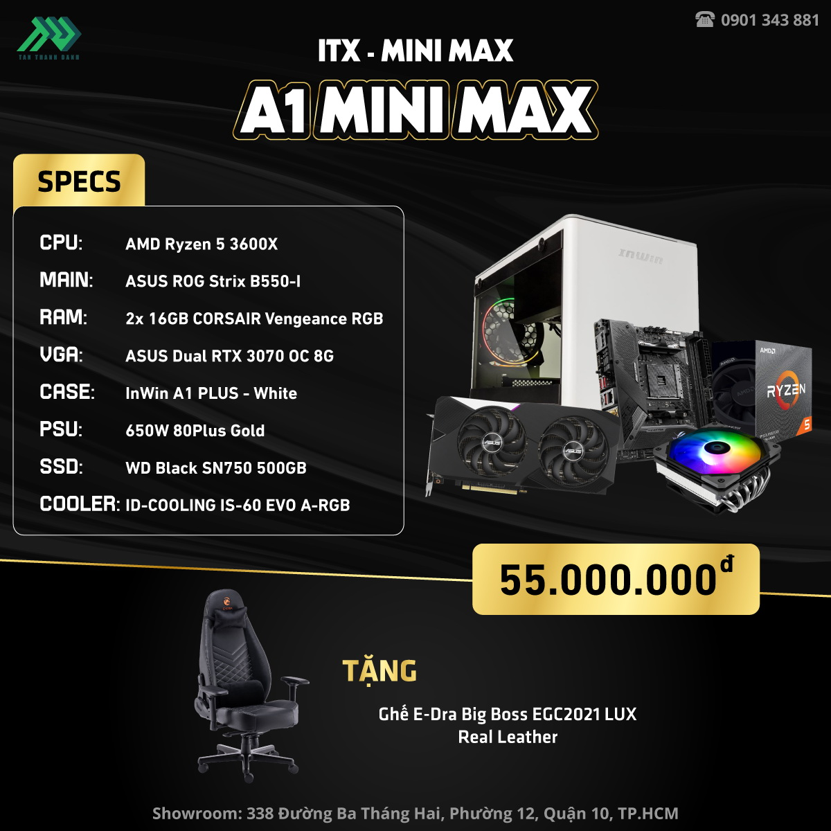A1 Mini Max Details Black