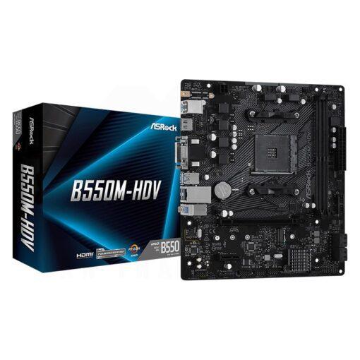 ASRock B550M HDV Mainboard 1