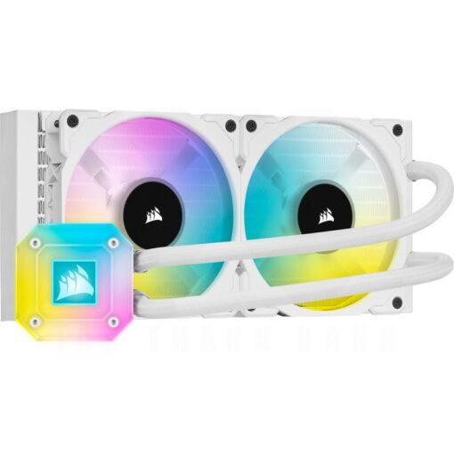 CORSAIR iCUE H100i ELITE CAPELLIX WHITE Liquid CPU Cooler 1