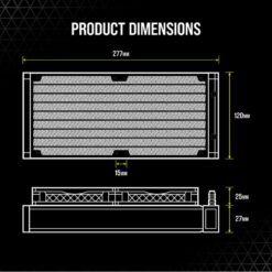 CORSAIR iCUE H100i ELITE CAPELLIX WHITE Liquid CPU Cooler 9