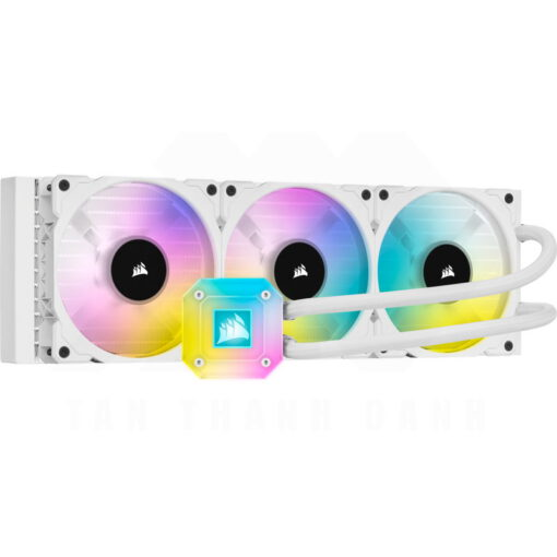 CORSAIR iCUE H150i ELITE CAPELLIX WHITE Liquid CPU Cooler 1