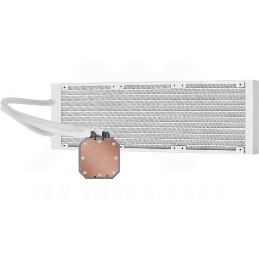 CORSAIR iCUE H150i ELITE CAPELLIX WHITE Liquid CPU Cooler 10