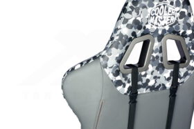 Cooler Master Caliber R1S Gaming Chair – Grey Camo 3