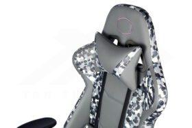 Cooler Master Caliber R1S Gaming Chair – Grey Camo 5