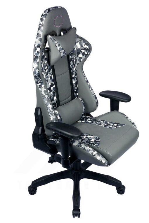 Cooler Master Caliber R1S Gaming Chair – Grey Camo 9