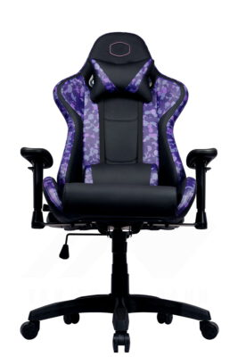 Cooler Master Caliber R1S Gaming Chair – Purple Camo 10