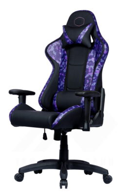 Cooler Master Caliber R1S Gaming Chair – Purple Camo 2