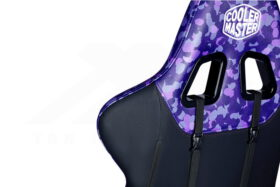 Cooler Master Caliber R1S Gaming Chair – Purple Camo 3