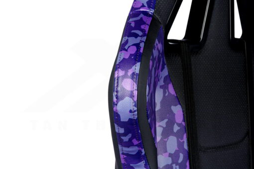 Cooler Master Caliber R1S Gaming Chair – Purple Camo 4