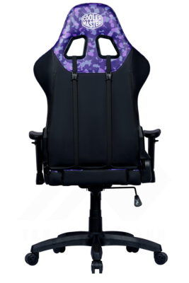 Cooler Master Caliber R1S Gaming Chair – Purple Camo 5