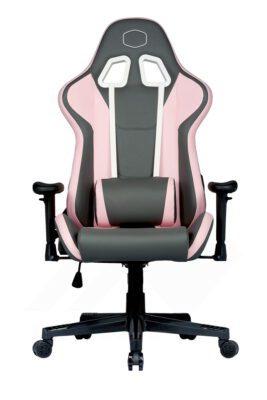 Cooler Master Caliber R1S Gaming Chair – Rose Grey 2