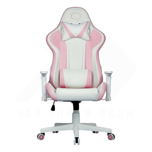 Cooler Master Caliber R1S Gaming Chair – Rose White 1