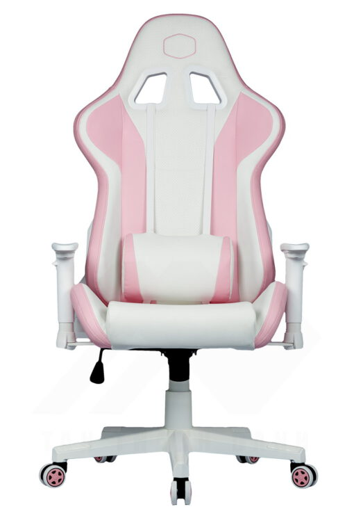 Cooler Master Caliber R1S Gaming Chair – Rose White 2