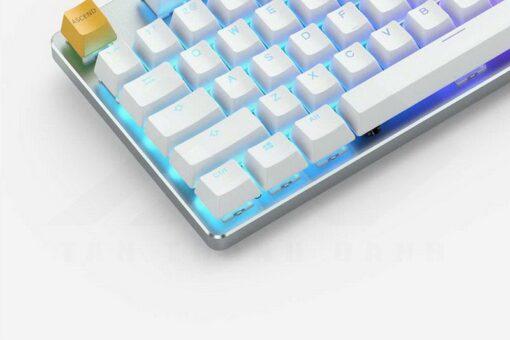 Glorious GMMK Keyboard – White Ice TKL 4