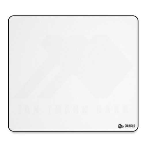 Glorious Stitch Cloth Mouse Pad – Large White 1