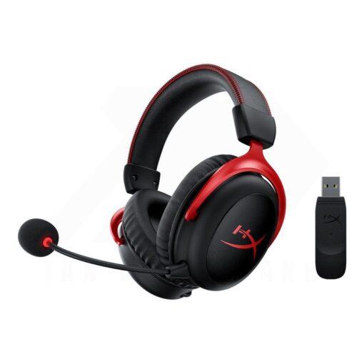 Kingston HyperX Cloud II Wireless Gaming Headset – Red 1