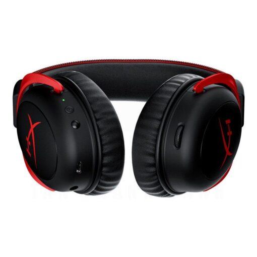 Kingston HyperX Cloud II Wireless Gaming Headset – Red 3