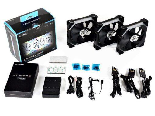 Lian Li UNI Fan SL120 Triple Pack Black 2