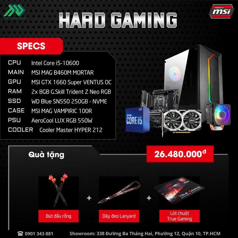 MSI Hard Gaming PC Specs v2
