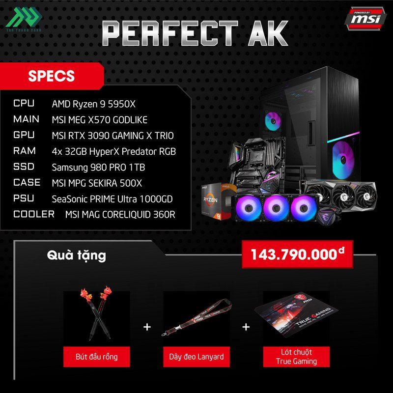 MSI Perfect AK PC Specs
