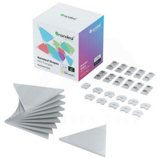 Nanoleaf Shapes Expansion Pack – 10 Light Mini Triangles