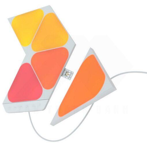 Nanoleaf Shapes Smarter Kit – 5 Light Mini Triangles 2