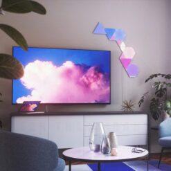 Nanoleaf Shapes Smarter Kit – 5 Light Mini Triangles 3
