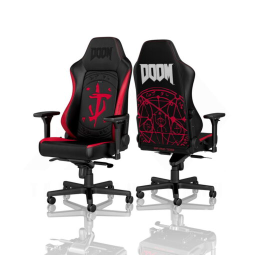 Noblechairs HERO PU Leather Gaming Chair – DOOM Edition 2