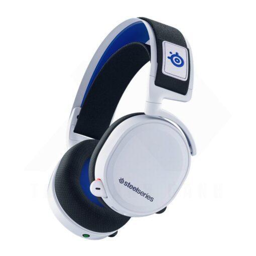 SteelSeries Arctis 7P Wireless Gaming Headset – White 1