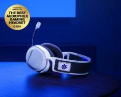SteelSeries Arctis 7P Wireless Gaming Headset – White 5