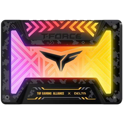 TTD T FORCE DELTA TUF Gaming Alliance RGB SSD
