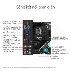ASUS ROG MAXIMUS XIII APEX Mainboard – Z590 Chipset 5