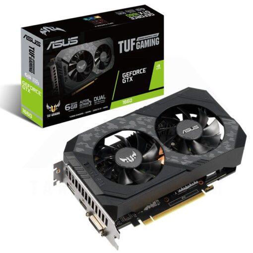 ASUS TUF Gaming Geforce GTX 1660 6G Graphics Card