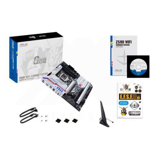 ASUS Z590 WIFI GUNDAM EDITION Gaming Mainboard 4
