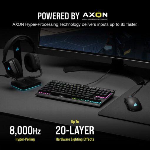 CORSAIR K70 RGB TKL Champion Series Gaming Keyboard 4