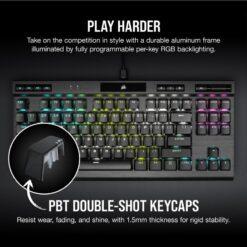 CORSAIR K70 RGB TKL Champion Series Gaming Keyboard 5