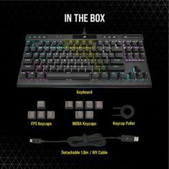 CORSAIR K70 RGB TKL Champion Series Gaming Keyboard 7