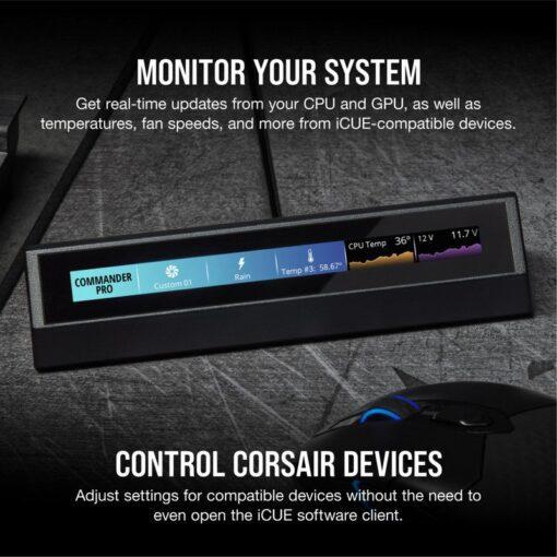 CORSAIR iCUE NEXUS Companion Touch Screen 4