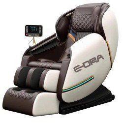 E Dra Hestia EMC101 Luxury Massage Chair Milky White