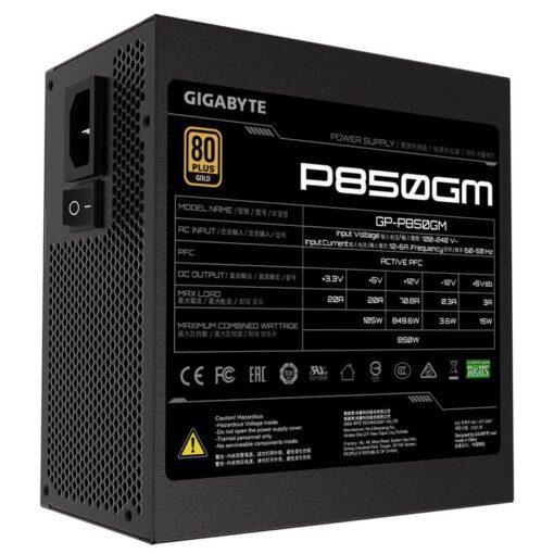 GIGABYTE P850GM PSU 5
