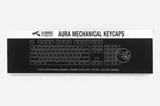 Glorious Black Aura Keycaps Set 3
